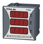 ΒΟΛΤΟΜΕΤΡΟ 96Χ96 3Φ 0-500V AC (3 ενδείξεων) DP3-96-3U